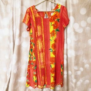 """JAMS WORLD Hula Moon A-Line Dress """"Fire Moon"""""""